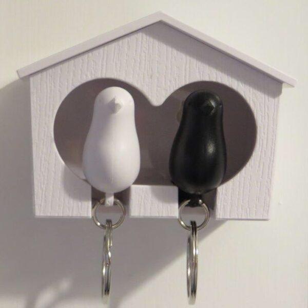 birdhouse keyring