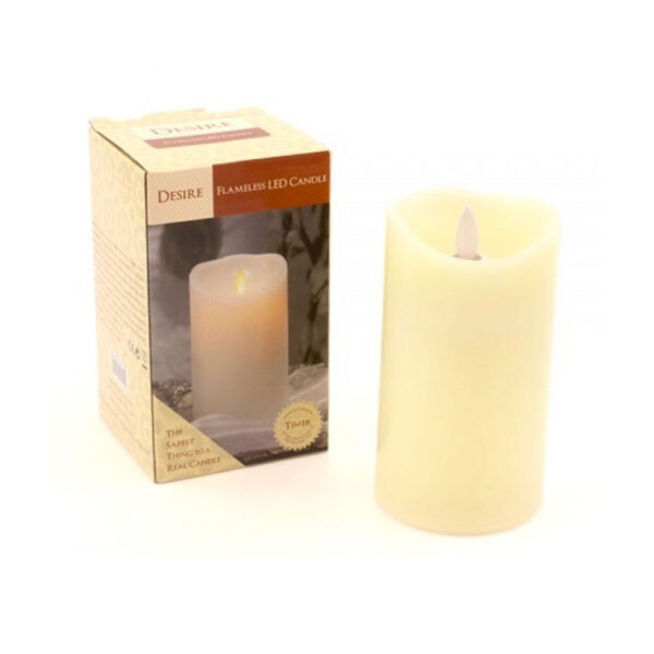 flickering flameless led candle