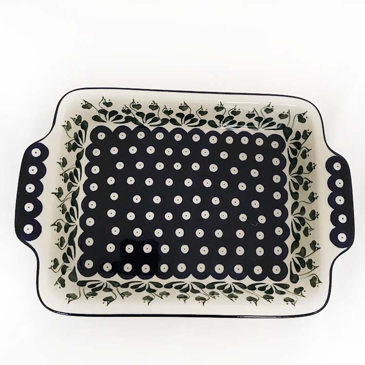ovenware oven to table polish pottery dish