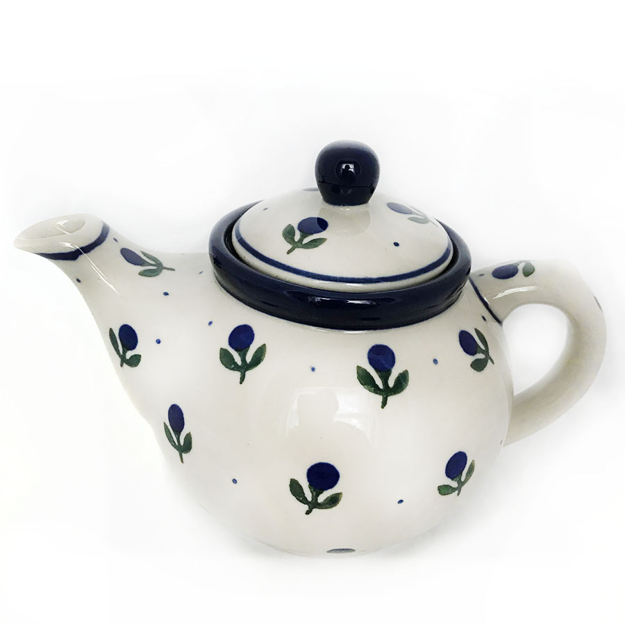small china teapot for one, buy polish pottery online