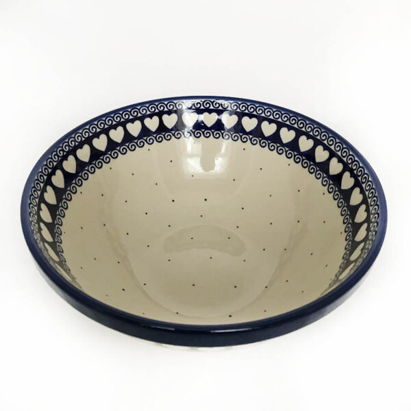 beautiful polish pottery serving dish