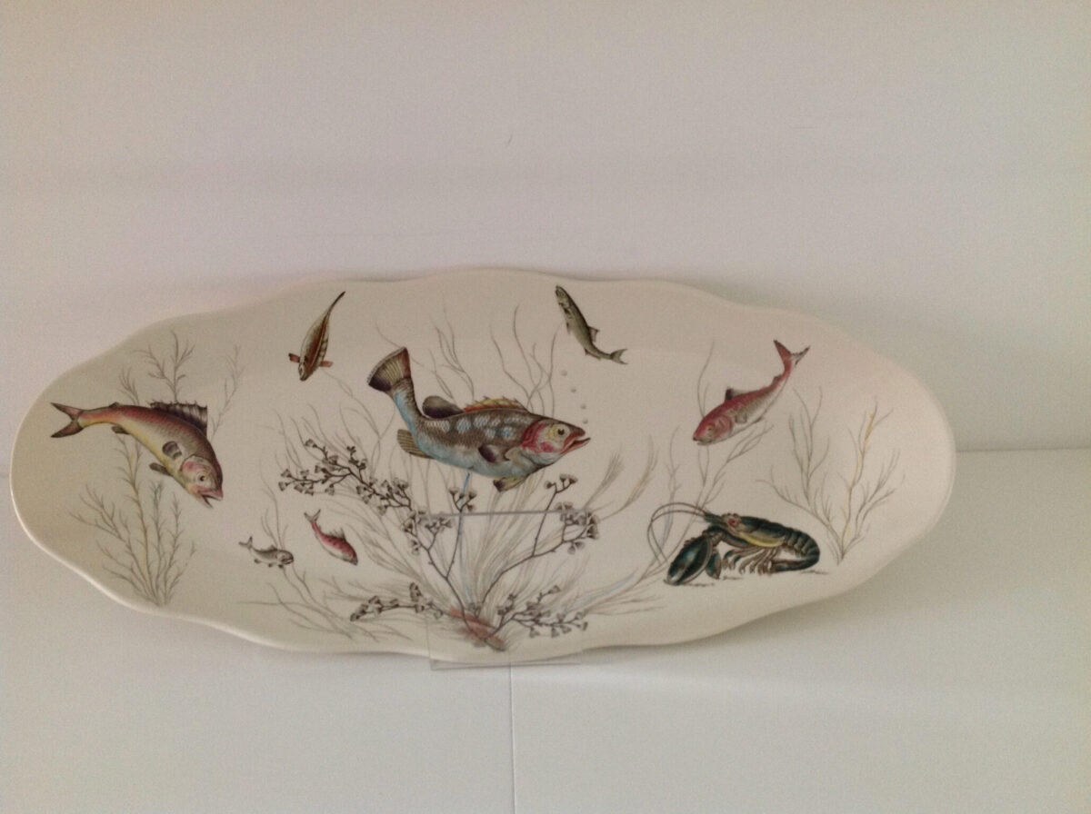 Vintage oval fish dish, buy online