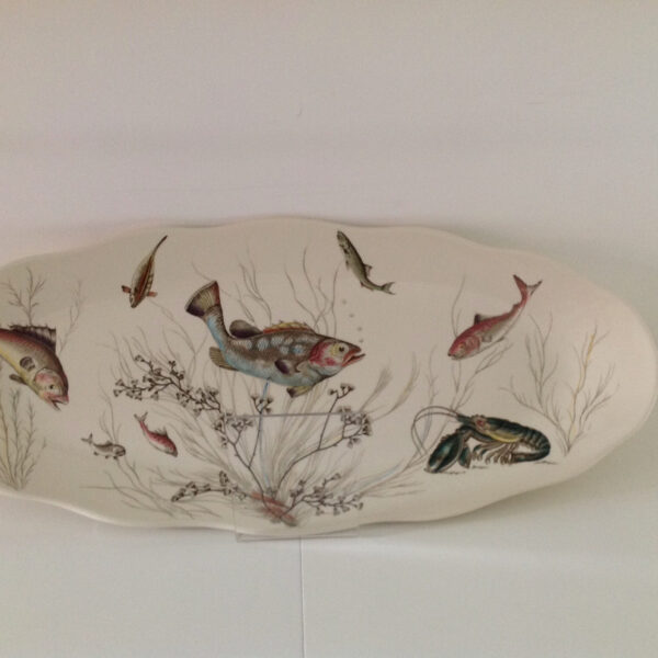 Vintage oval fish dish, buy online