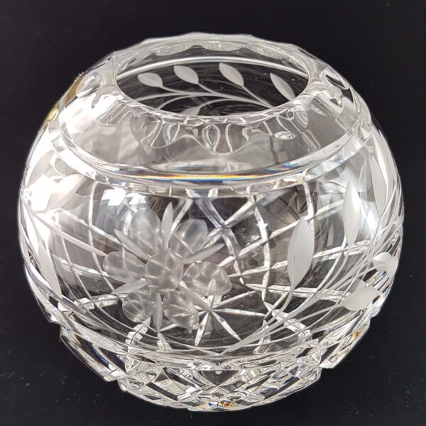 Vintage crystal bowl available now