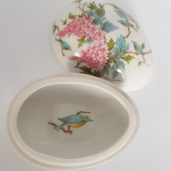 Vintage Limoges Egg Trinket box available now at www.qwinkydink.co.uk