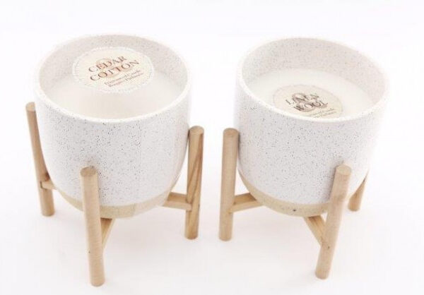 Scandi style Candle pots available to buy at www.qwinkydink.co.uk