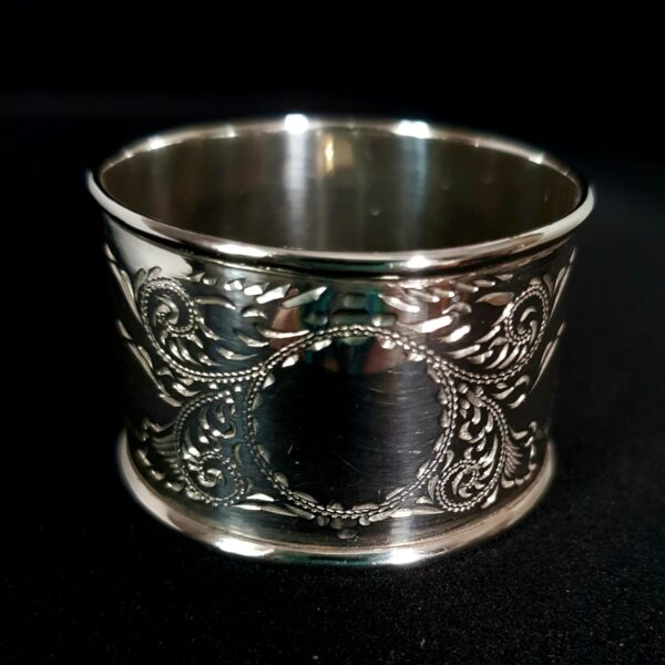 Antique Silver Napkin Ring, available to buy at Qwinkydink.co.uk